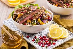 Middle Eastern Spiced Lamb Couscous Bowl